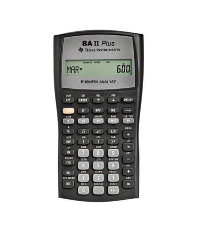 Texas Instruments BA II Plus Financial Calculator: Buy Online at Best Price in India - Snapdeal