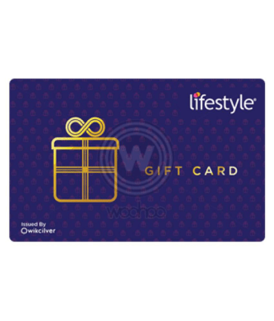 Lifestyle E-Gift Card - Buy Online on Snapdeal