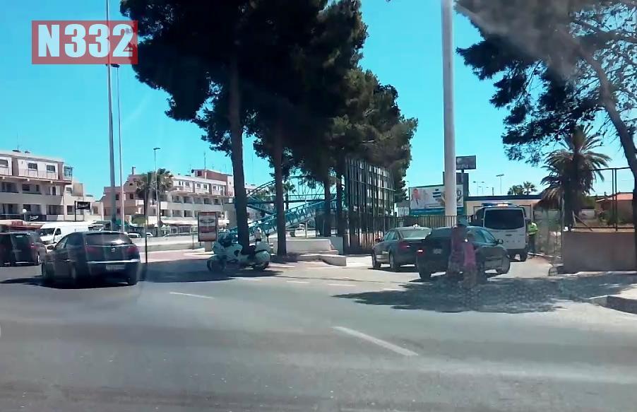 Guardia Civil Officer Injured in Torrevieja Crash