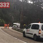 Police Motorcyclist Dies in Motorhome Collision