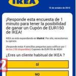 Warning Over Ikea Voucher Scam