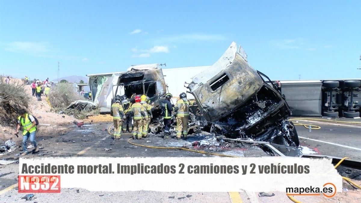 Three Killed in Murcia Motorway Crash