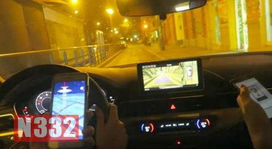 YouTuber Videoed Himself Playing Pokemon at the Wheel