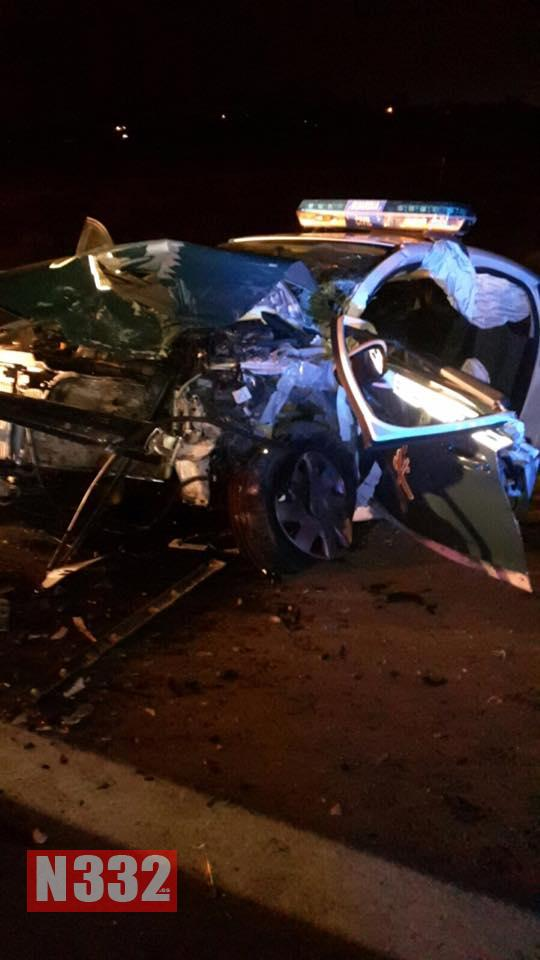 Officers Seriously Injured in Santa Pola Crash