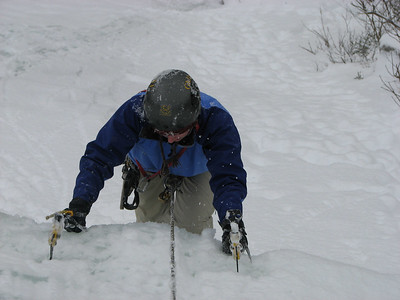 Ice Climbing on Jess's Birthday: 16-18 Feb 2007