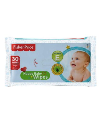 Fisher Price Baby Wipes 30 pieces Pack