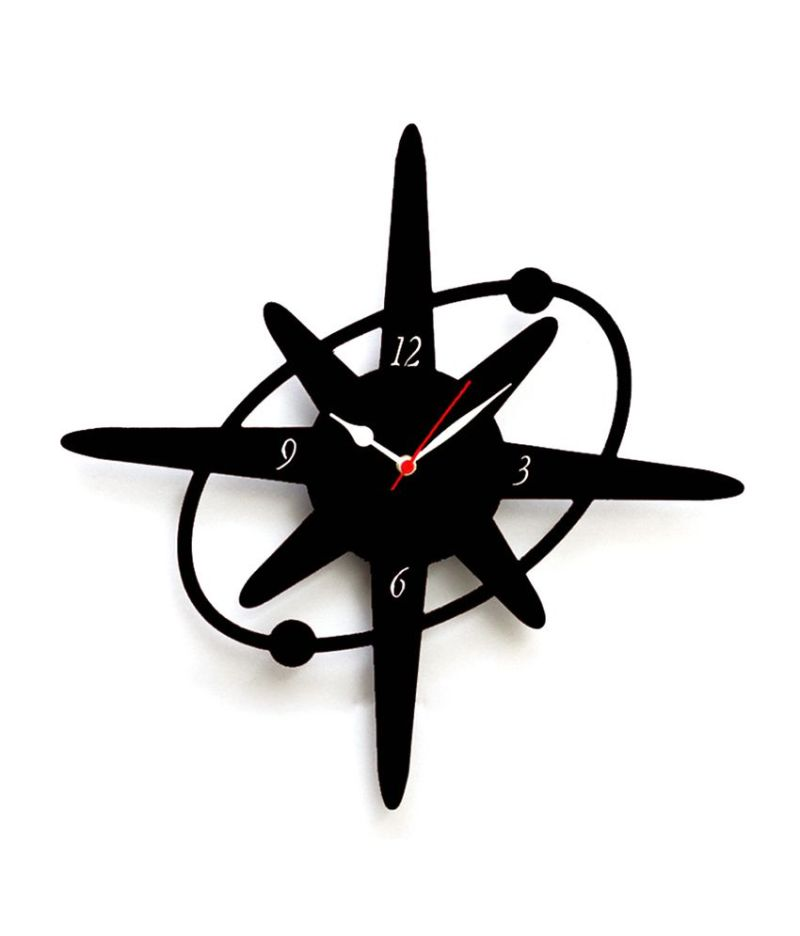 Large Of Star Shaped Wall Clocks