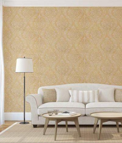 Buy Wallpaper 4 Less Cream & Latte Damask Italian Wallpaper-114sqft. Online at Low Price in ...
