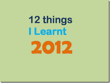 12-things-learnt-2012