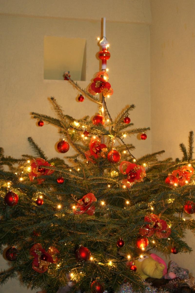 а вот и елка получилась, Новый 2009 год
