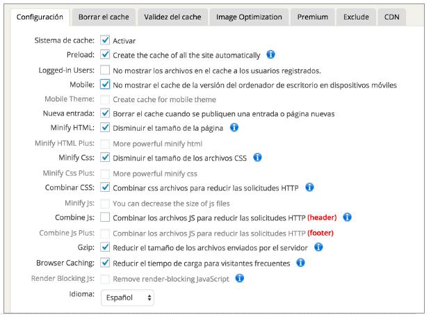 configuracion-plugins seo-fastest-cache