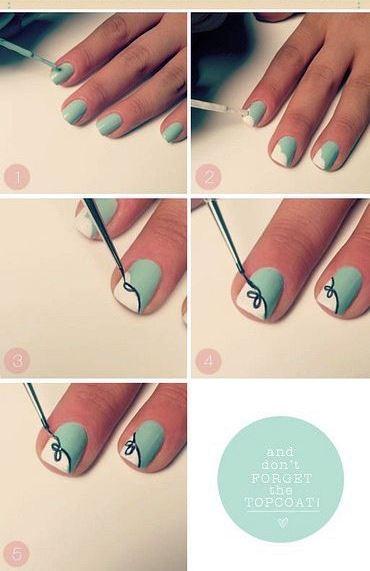 Как сделать красивый маникюр на коротких ногтях самой