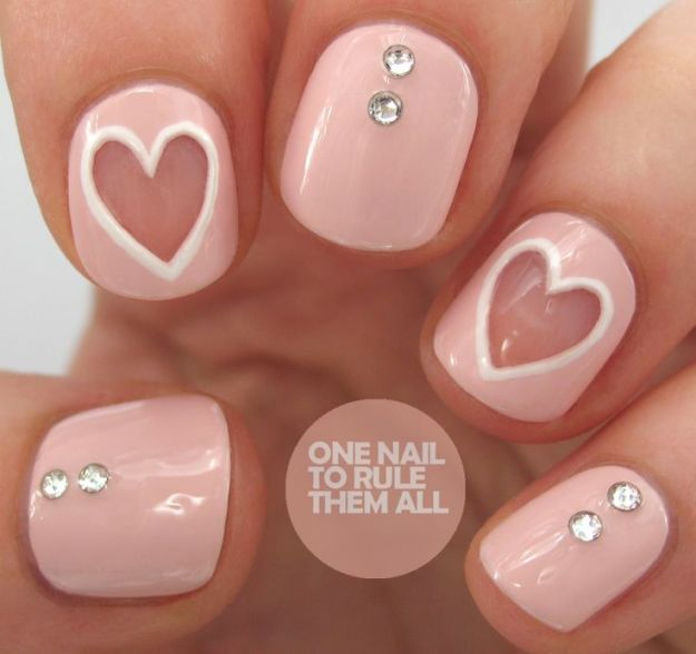 cute-valentine-nail-designs-new-easy-pretty-home-manicure-ideas-11