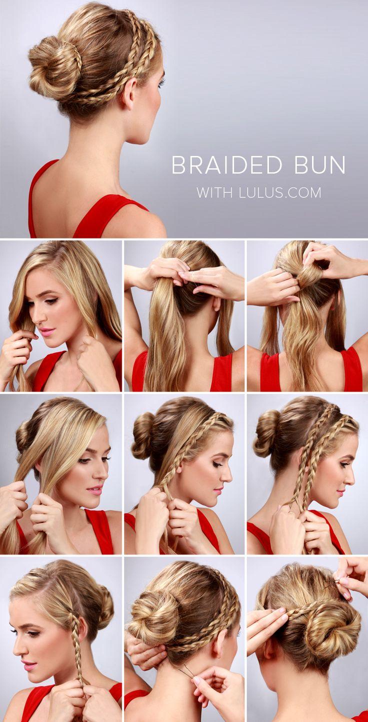 Самая простая прическа на каждый день на средние волосы