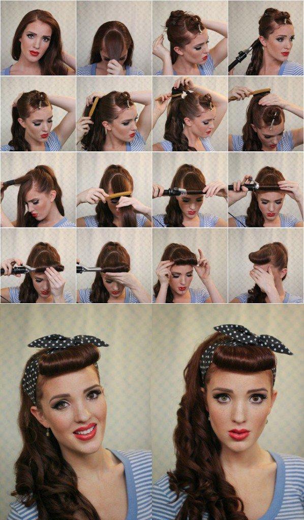 Как сделать причёски 70-х годов