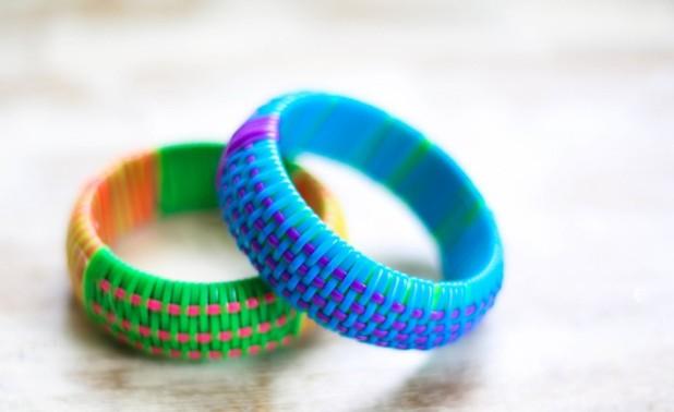 Plastic-Cord-Woven-Bangles-1
