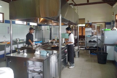 The New Kitchen in Full Operation
