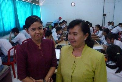 Program Coordinator Dr. Fariah & Staff Member
