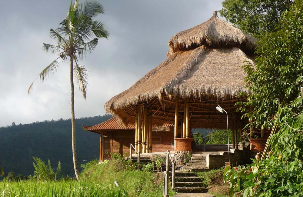 Puri Lumbung Meditation Hall