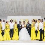 50 Shades of Yellow: Lizondo and Friday's Yellow-Themed Wedding under Abuja Sunset