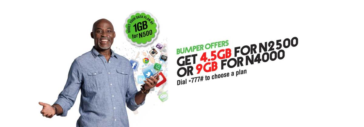 Glo Offers 1GB data for N500 plus other cheaper plans