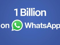 WhatsApp has 1 billion users worldwide