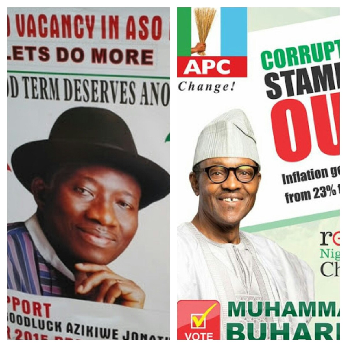 Results of 36 states and FCT gives General Buhari victory by 2.57million votes