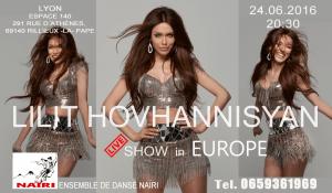 Lilit Hovhannisyan et Ensemble de danse Nairi