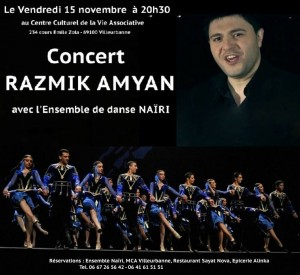 Rasmik Amyan et Ensemble de danse Nairi