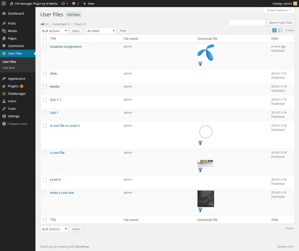 Uploaded-files-list-in-admin