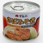 サバ味噌缶