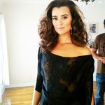 Cote de Pablo See-Through Oops