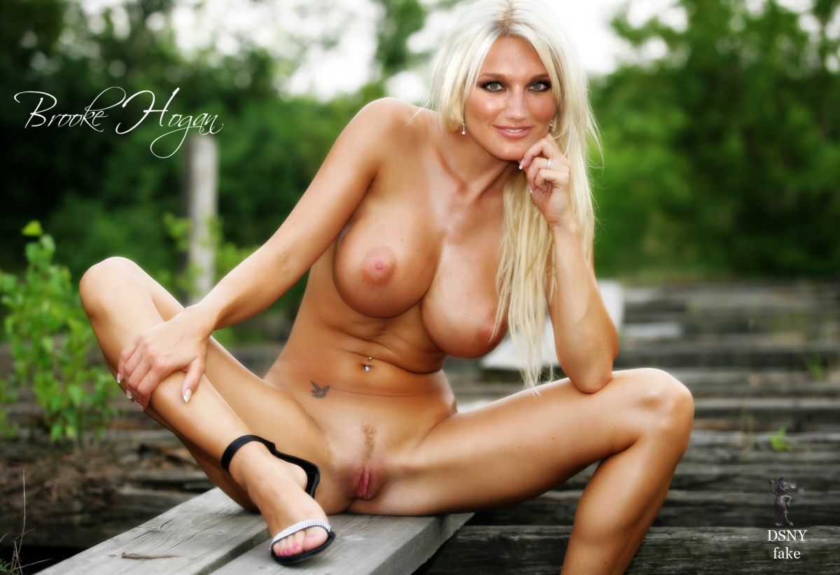 Amusing Brooke hogan ass naked