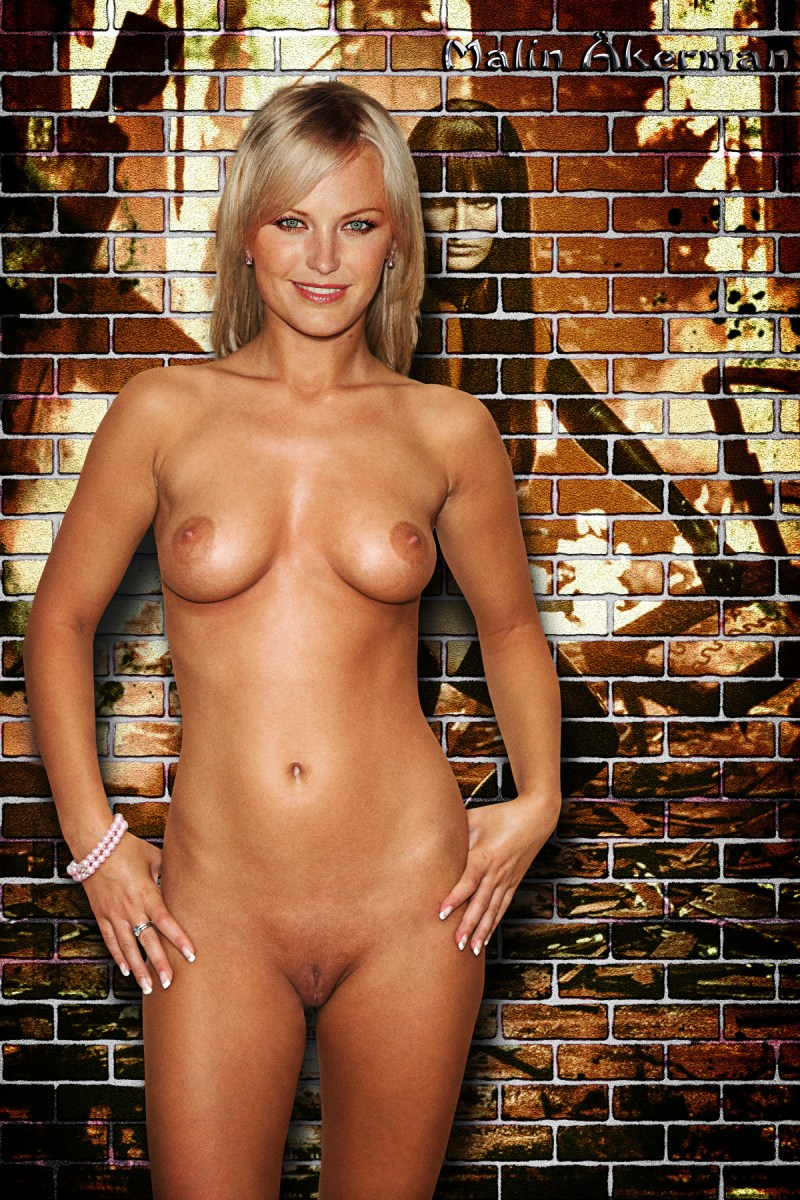malin akerman fake cumshot