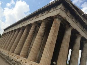 Templo de Hefesto, dentro da Ágora antiga