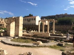 Biblioteca de Adriano: presente do Imperador Romano ao povo de Atenas
