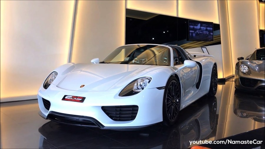 Michael Mauer Archives   Namaste Car Porsche 918 Spyder e Hybrid 2018  review  specs and details in Hindi