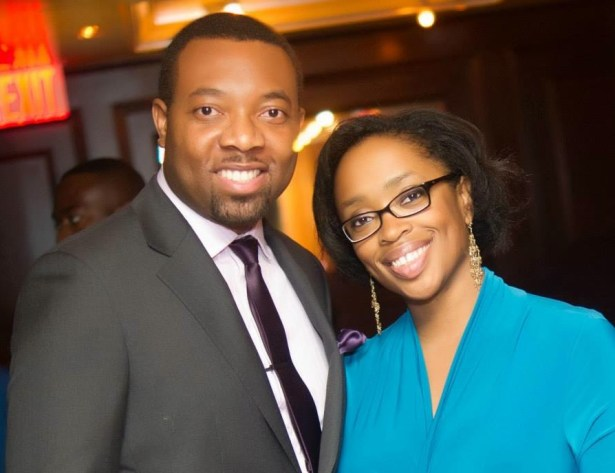 NaMO and his wife, Gozie at ADA - Africa DIaspora Awards After Party