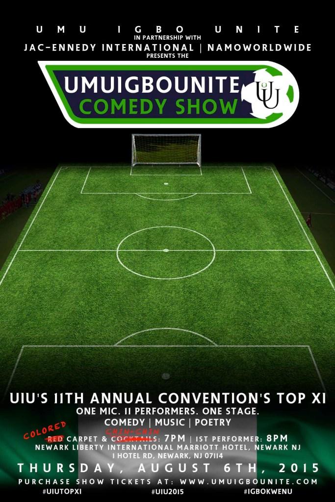 2015 UIU Comedy Show Anticipation