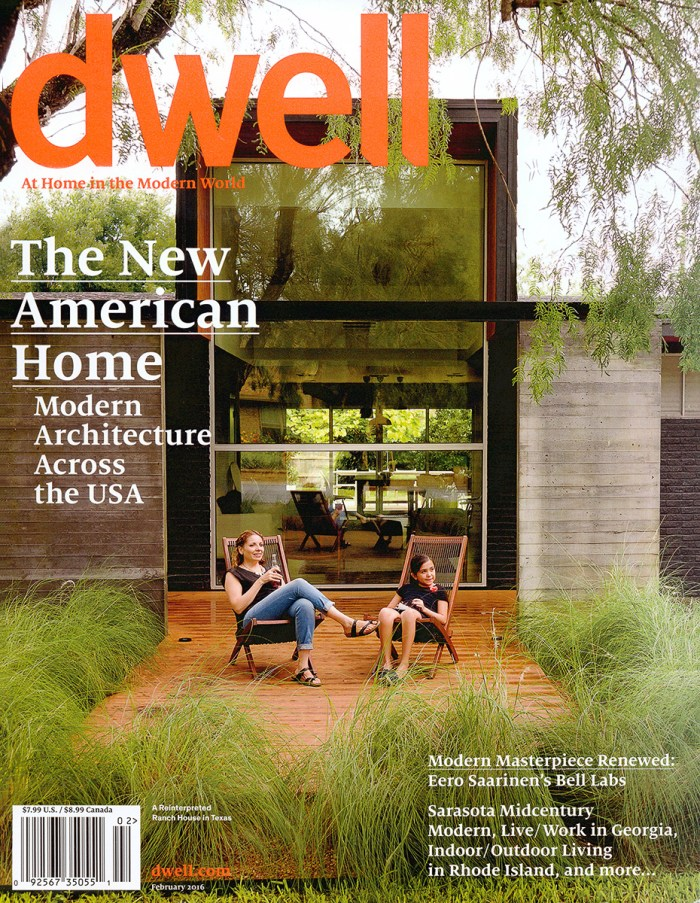 Dwell February 2016 – images courtesy of Dwell.