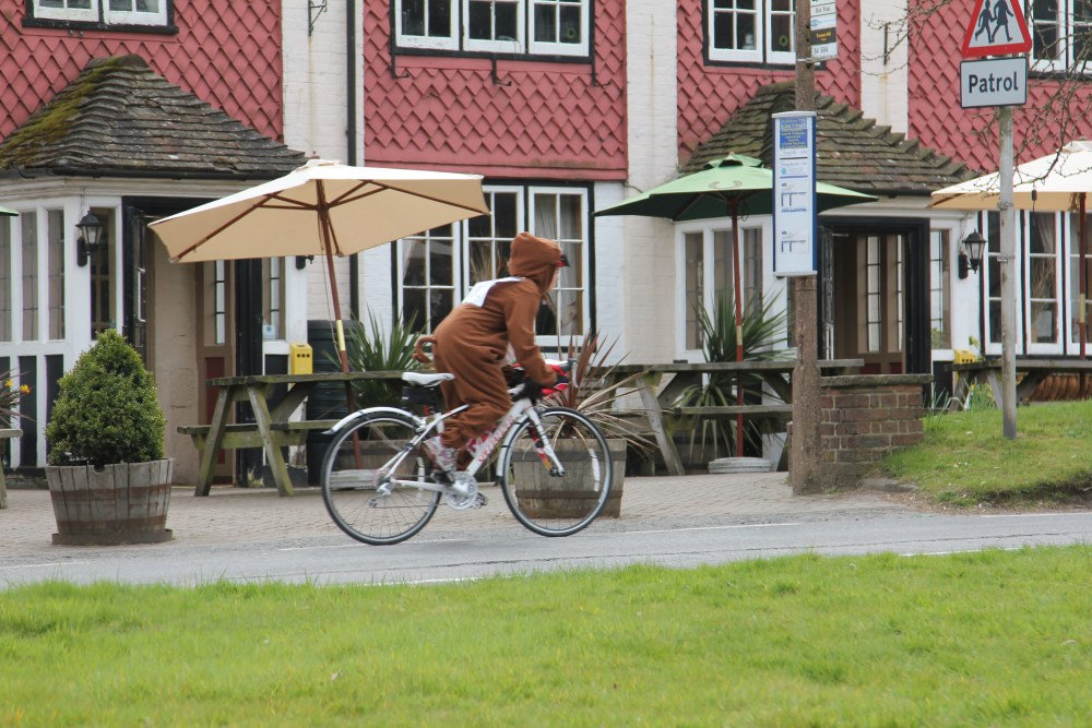 Stop Press: Monkey seen cycling from London to Brighton!! (6/6)
