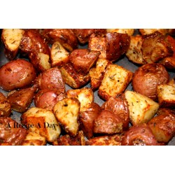 Small Crop Of Fried Red Potatoes