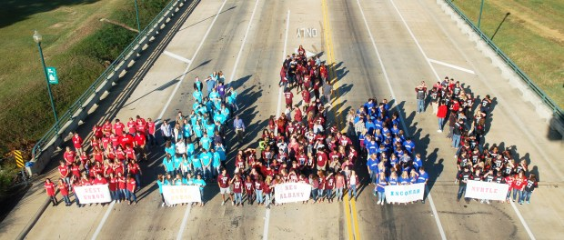Seniors from Union County and New Albany schools reprise walk of 2006