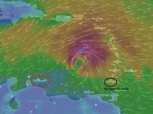 Stormen: Tidigt torsdag morgon