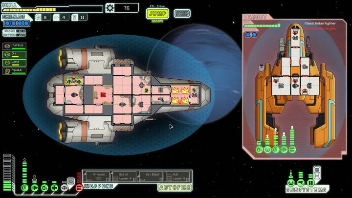 A Screenshot from FTL