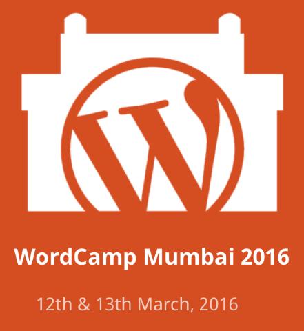 WordCamp Mumbai 2016 Banner