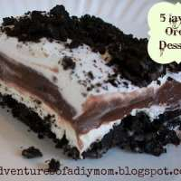 Five Layer Oreo Dessert and Tasteful Tuesday Party