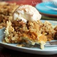 Pumpkin Pie Apple Crisp