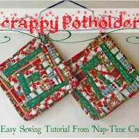 Christmas Potholders tutorial