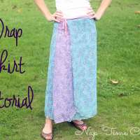 Wrap Skirt Tutorial